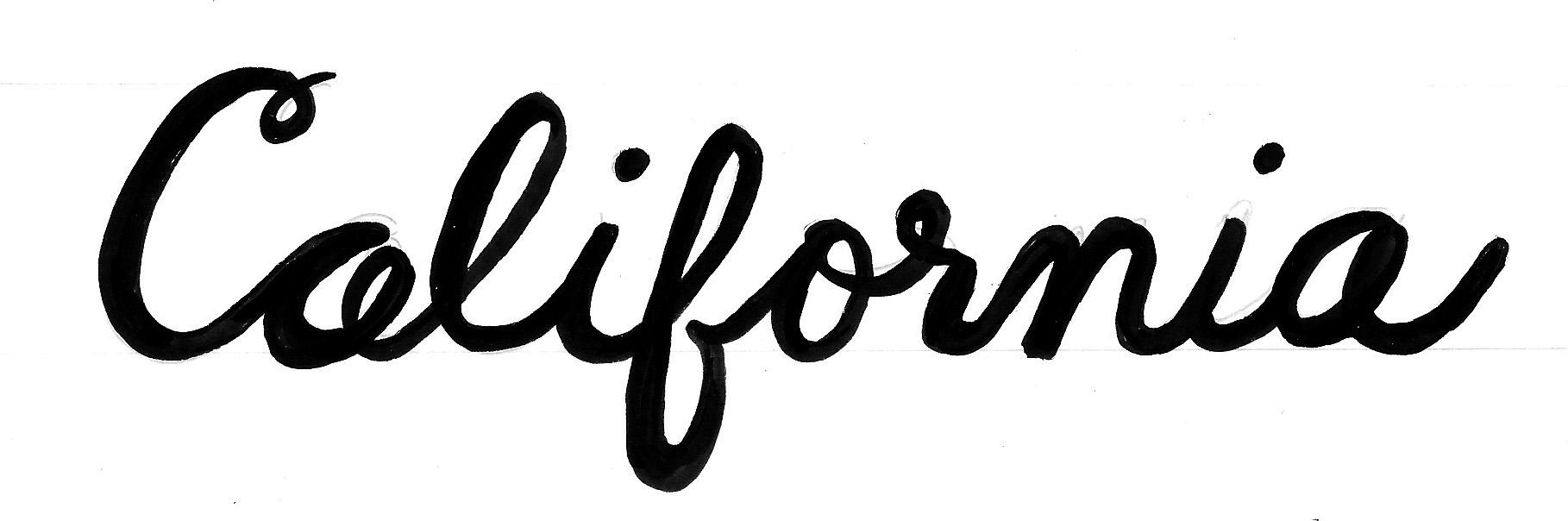 California Sketch